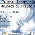 Badminton : Tournoi National de Doubles du (...)