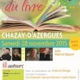 Salon du Livre de Chazay d'Azergues - Edition (...)